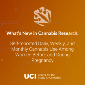 Self-reported Daily, Weekly, and Monthly Cannabis Use Among Women Before and During Pregnancy
