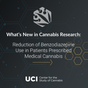 Reduction of Benzodiazepine Use in Patients Prescribed Medical Cannabis