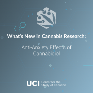 Anti-Anxiety Effects of Cannabidiol