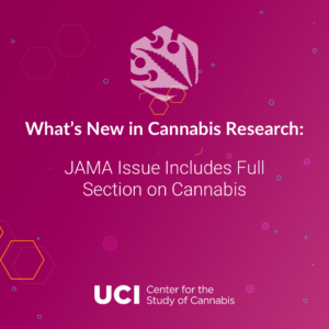 JAMA Issue Includes Full Section on Cannabis