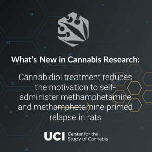 Cannabidiol treatment reduces the motivation to self-administer methamphetamine and methamphetamine-primed relapse in rats