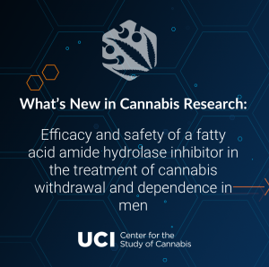 Efficacy and safety of a fatty acid amide hydrolase inhibitor in the treatment of cannabis withdrawal and dependence in men