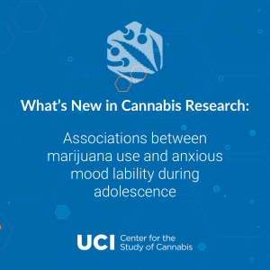 Associations between marijuana use and anxious mood lability during adolescence